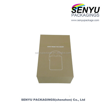 Cheap 1000G hard cardboard lid and base packaging gift box for radio