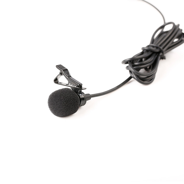 BOYA BY-M11C Cardioid Condenser Lapel Lavalier Microphone for Interview Film Theater Broadcast Stage Video Recording Mic