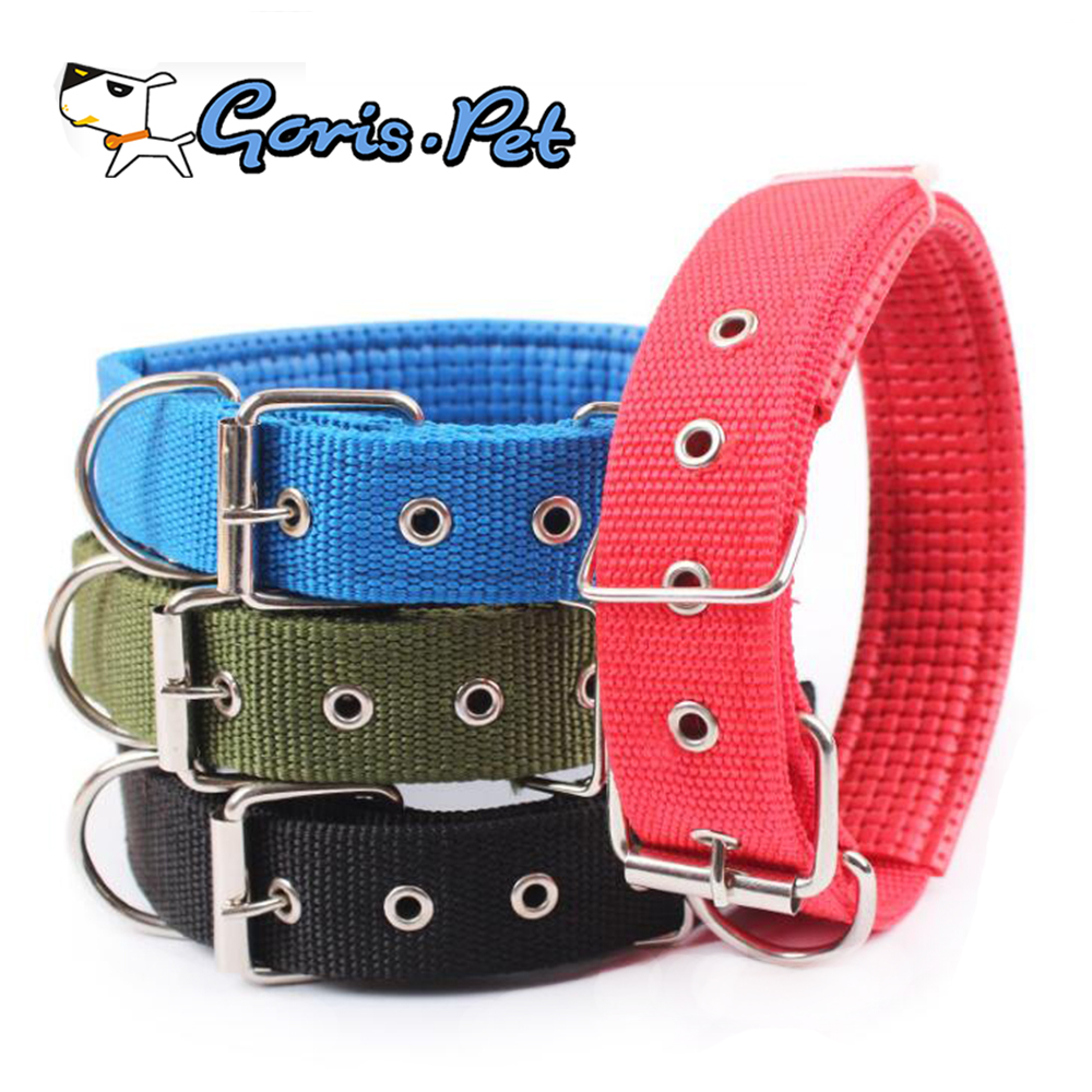 Durable Soft Padded Nylon Dog Training Collar