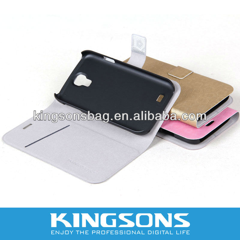 2013 Hot-selling Protective case Smart Cover for Samsung S4 K8556U