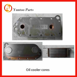 ISLE290 41 engine Oil cooler cores 1012-00124 for yutong bus