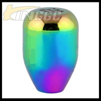 Auto Racing Car Rainbow Aluminum Gear Shift Knob Custom Knob
