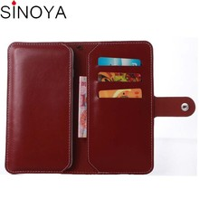 Real Genuine Flip Wallet Sleeve Pouch Cover case for nokia lumia 925