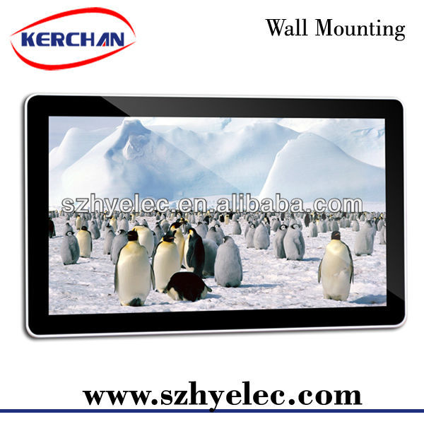 Wall Mounting 46 Inch Digital LCD Billboards For Sale SAD4604
