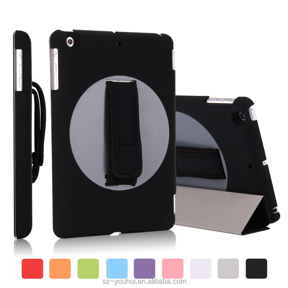 New arrival hand strap protective case for iPad mini2 3