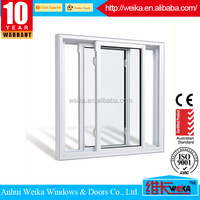 Good quality and reasonable price ISO9001,CE alloy aluminum window and modern single glass sliding windows