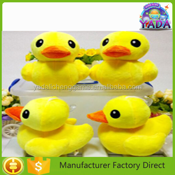 Yadalichenggame Lovely Soft Little Yellow Duck Stuffed Plush Toy