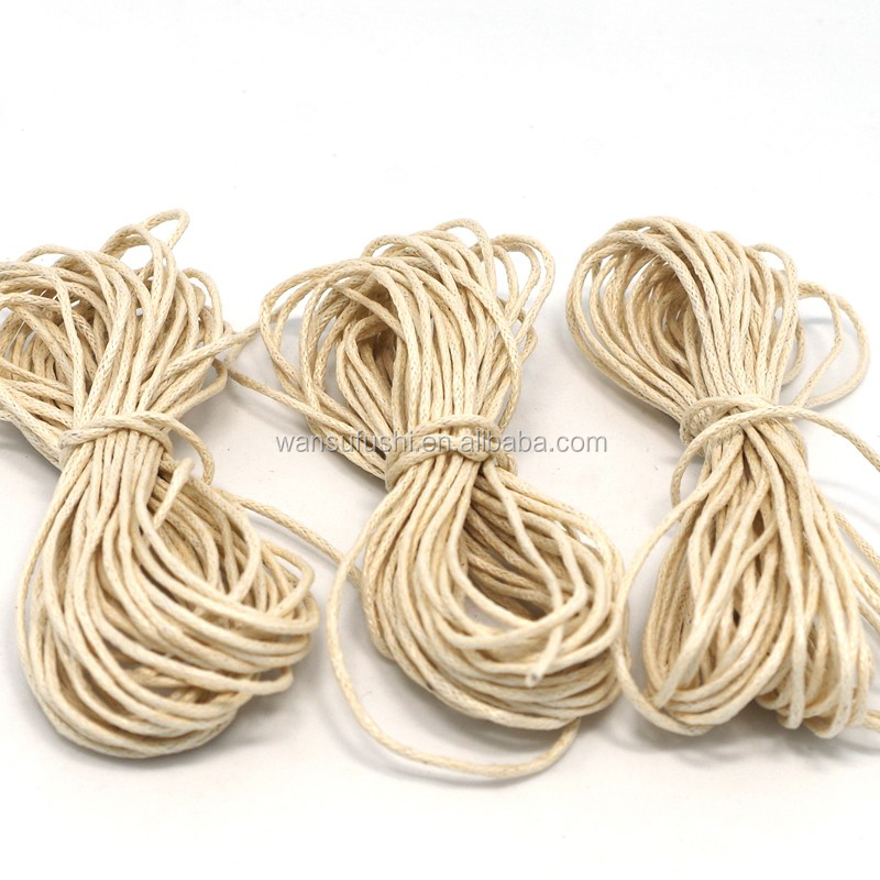 low price hot sale 1.5mm waxed polyester cord