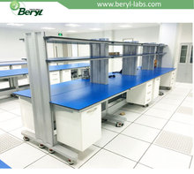 Beryl Electronic /Biology Central Laboratory Island Bench