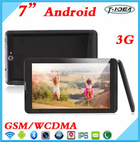Cheapest Dual Core 7inch 3G Tablet With FM Bluetooth GPS Dual Sim
