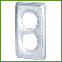 Galvanized Electrical Metal Outlet Box Cover
