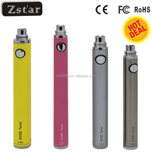 2015 EVOD c twist battery ego c twist e cigarette with ce4 ce5 ce6 ego evod twist kit