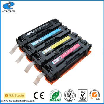 color toner cartridge 201A CF400X CF401X CF402X CF403X for HP Laserjet Pro M252/MFP printers