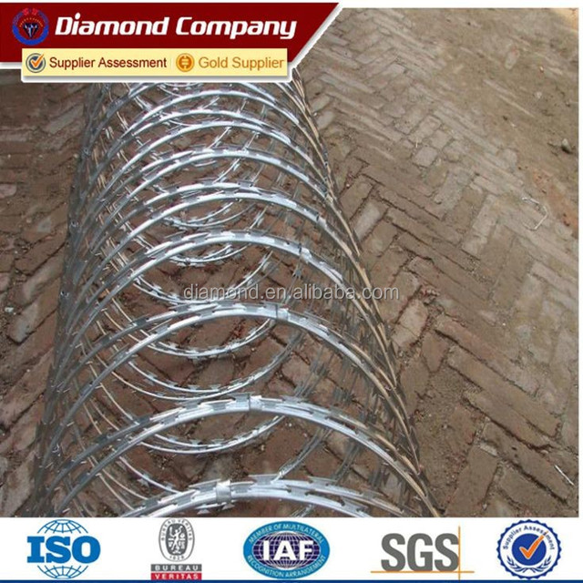 BTO -22 razor barbed wire with cover length 8-10m (450mm diameter )