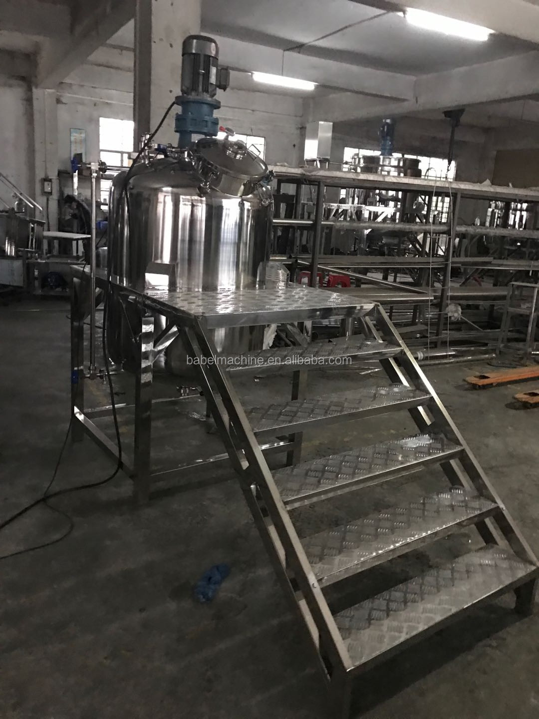 50L heating and syrup mixing tank