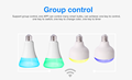 Energy Saving Smart Lighting LED RGB Wifi Bulbs Lights With Remote Controller