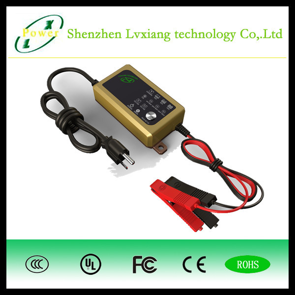12w electric vehicle E-car E-bus 6V 2A Li-ion /LiFePO4 /lead acid battery quick charger