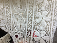 make-to-order supply type chemical polyester lace