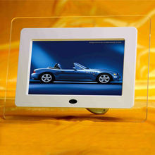 wholesale digital photo frame 7 foto frame Supporting zoom/rotate/slideshow/auto-off