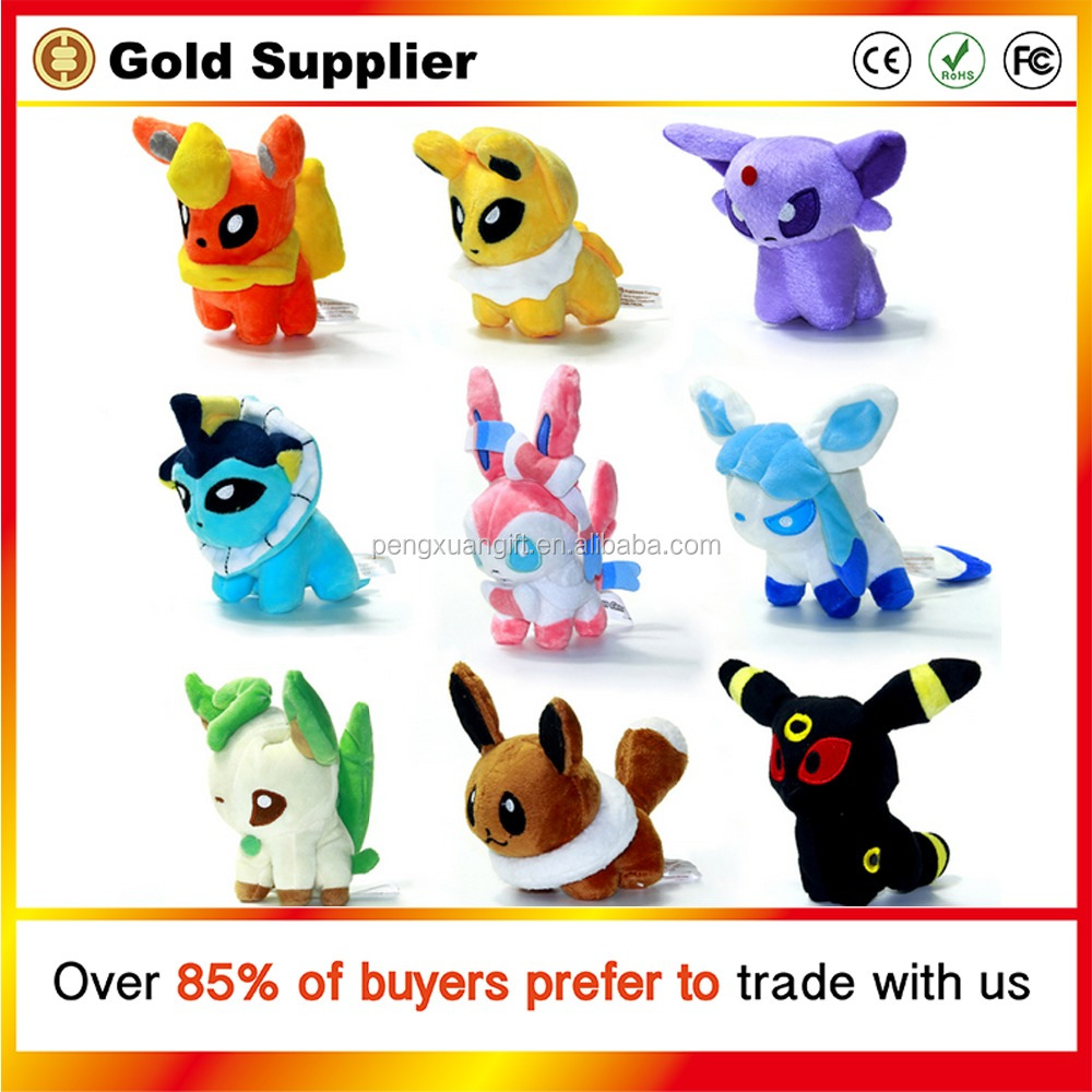 Factory Directly selling Pokemon Pikachu plush doll stuffed plush Pikachu pillow plush Pikachu toy for sale