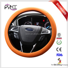 Universal size 33-38cm custom design silicone car steering wheel cover