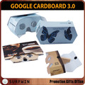 Custom full printing carton 3d google cardboard 3.0 folding vr glasses