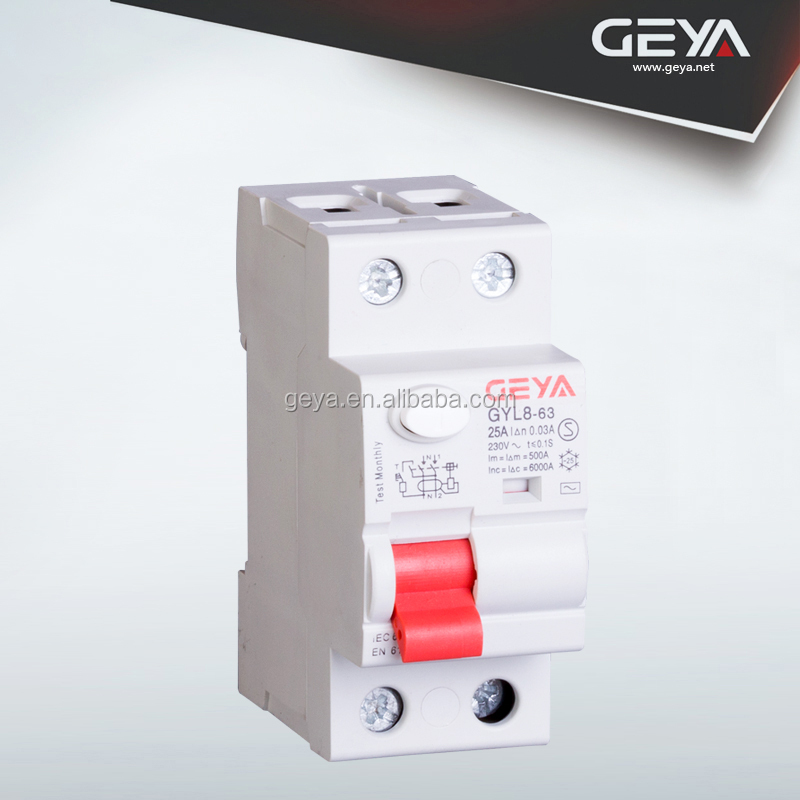 NEW Design Din Rail 1P+N Earth Leakage /Residual Current Circuit Breaker / RCBO/ELCB/RCCB manufactuer