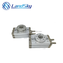 LandSky air tac tandem homemade components cheap Pneumatic rotary table cylinder HRQ 70
