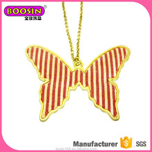 High quality design butterfly necklace, newest design gold necklaces for women