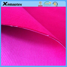 Hot sell breathable and waterproof Corduroy 3 layers, softshell fabric