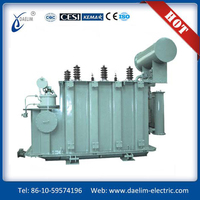 6300KVA 3 phase oil immersed step up transformer