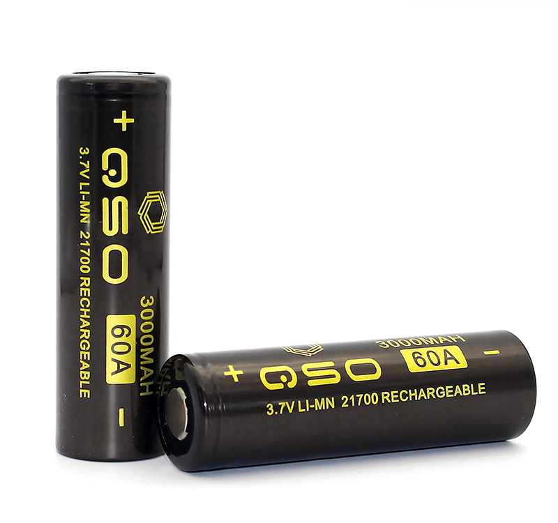 High quality 3000mAh 3.7V 60A 21700 long lasting electronic cigarette power battery
