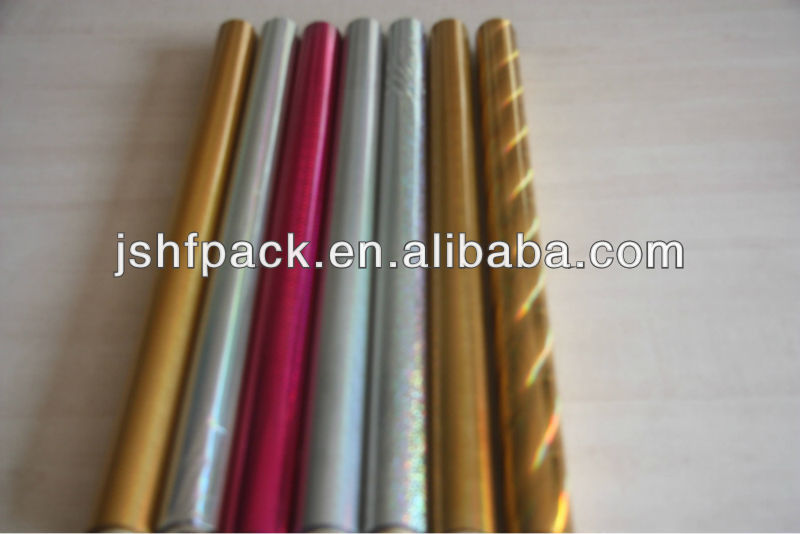 kinds of hot stamping foils for cigarette case water pine of cigarette
