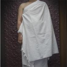 Polyester jacquard irham hajj towel,islamic clothing ihram towel for men