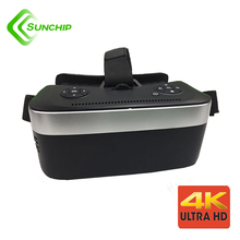 RK3399 3840P 4k display vr aio headset 2017 android vr glasses