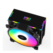 PCCOOLER High Quality copper cooling heatsink cpu cooling cooler fan with <strong>RGB</strong> support Intel And AMD