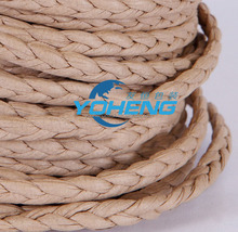 Environmental protection furniture edge Rattan paper braided twisting rope special for arts and crafts wholesale 3 braided rope