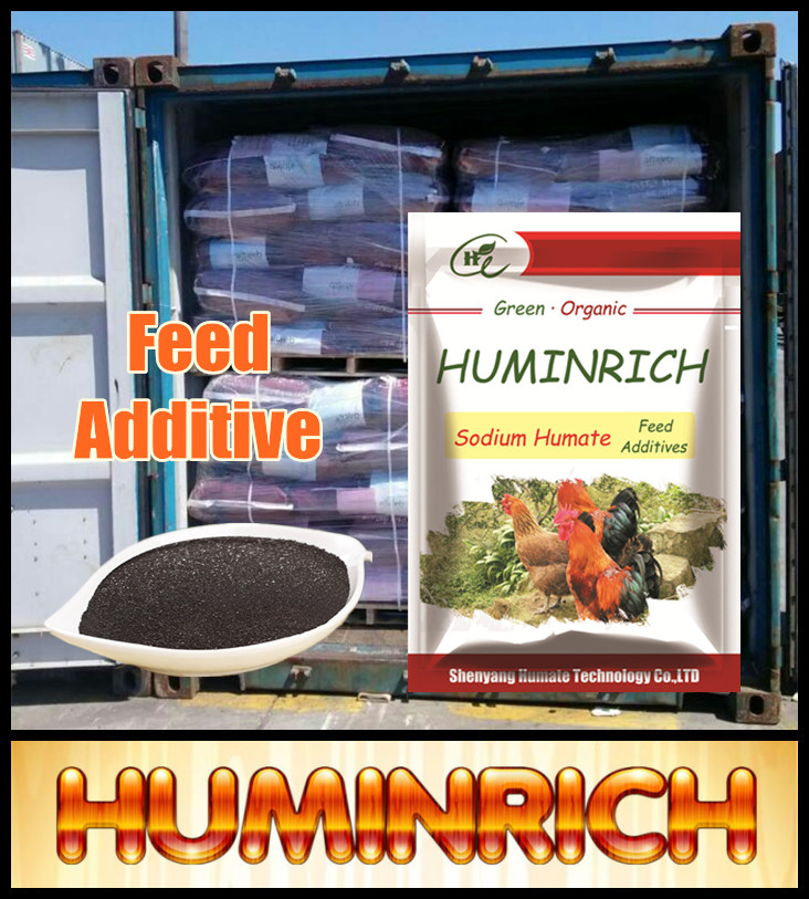 Huminrich Refined Livestock Humate Sodium Manufacturer Poultry Feed Additive
