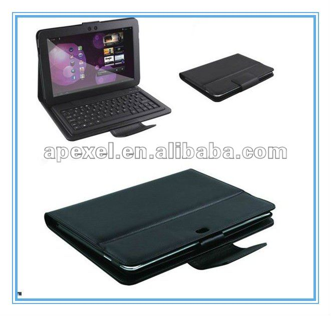 Bluetooth leather case & keyboard for 10.2