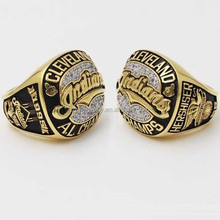 Custom Replica 1995 Cleveland Indians American League Championship Ring