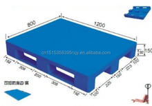 HDPE material durable 3 runners plastic pallet for food storage and sale
