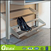 home furniture self assembly furniture for shelves cheap aluminum wardrobe closet pole-system with shose racks