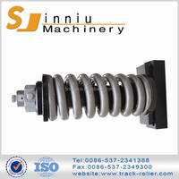 2015 new design black or orange steel casting machinery excavator recoil spring