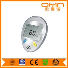 China Professional ISO Maufacturerone key operation glucose sugar/glucometer and glucose strips/high blood sugar test
