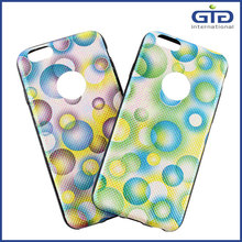 [GGIT] Bubble Pattern TPU+PU Combo Hybrid Soft Back Cover for iPhone 6 Case