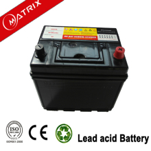 12v 60AH 20hr 55d23l mf high quality starting automotive car battery