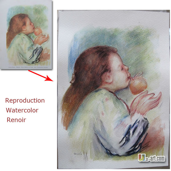 Handmade customize portrait canvas oil painting