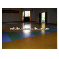 recycled plastic wood flooring for hospital