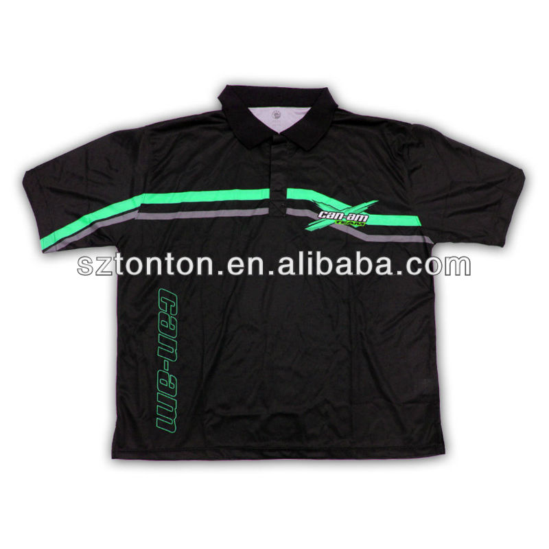 latest 100%polyester mens wholesale new designs motocross jersey
