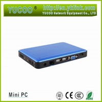 Windows 8 os , linux os 1080P intel Atom Z3735F office 64 bit computing mini pc
